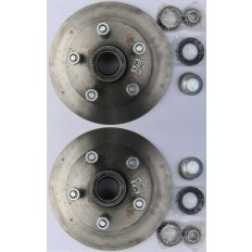 Disc Hub Landcruiser with SL bearings Pair Trailer Boat Caravan