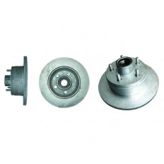 Disc Hub Holden HT with LM Bearings PAIR-Galvanized Trailer Boat Caravan